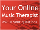 online music therapist